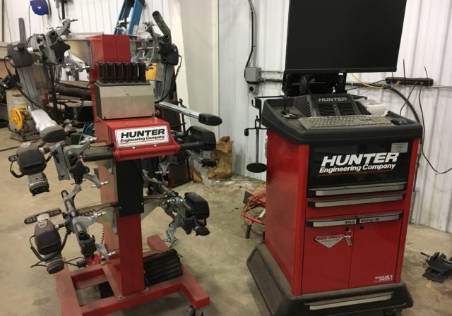 Hunter Computerized Alignment System