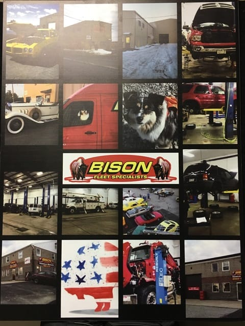 Bison Fleet Collage