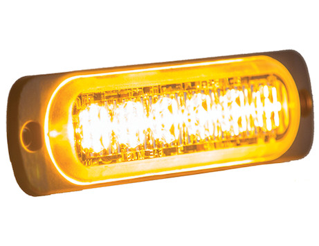 Warning Light Thin Mount Horizontal Strobe Light