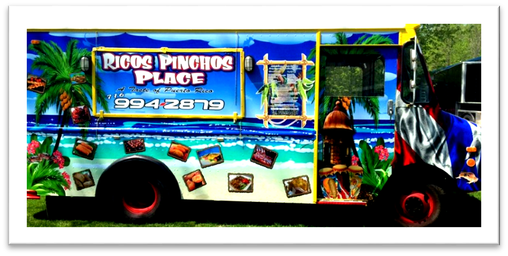Rico's Pinchos Place Food Truck Buffalo