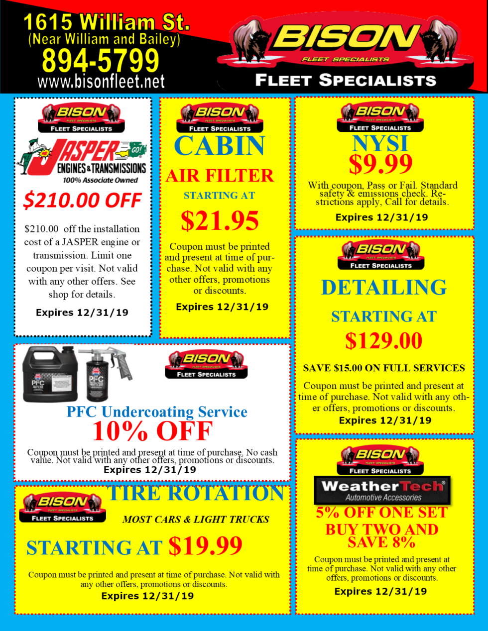 Bison-Fleet-Coupons-for-Auto-Detailing-NYSI-and-More